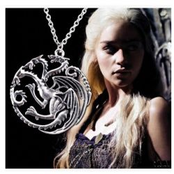 Colar Pingente Targaryen Game Of Thrones