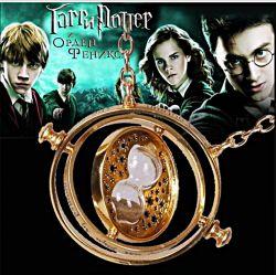 Colar Pingente Harry Potter Vira Tempo Hermione Dourado